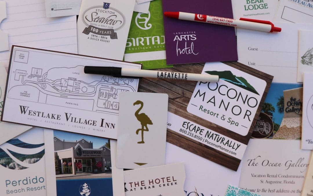 The Three Most Essential Hotel Branding Materials