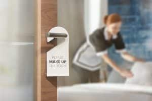 sanitation guest rooms