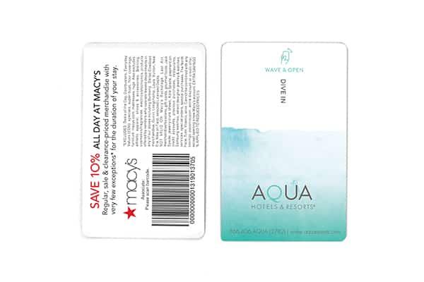 Aqua Macys RFID