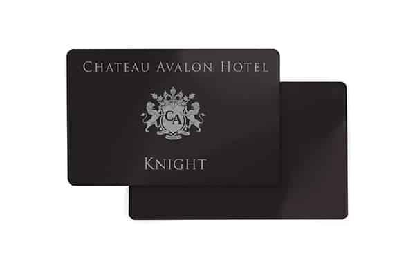 Chateau Avalon Knight RFID