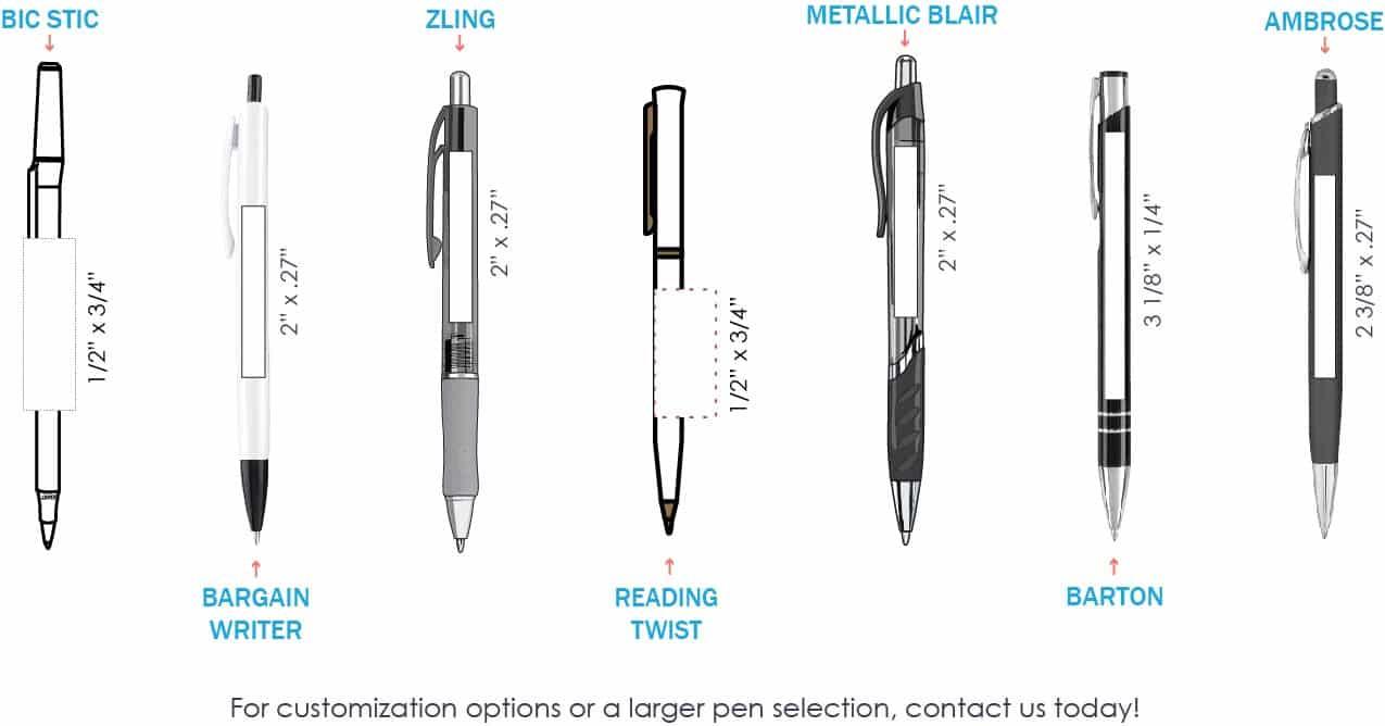 Popular Pen Templates